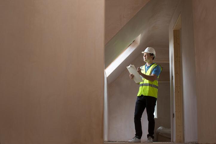 Arbejdsmiljøkoordinator på en byggeplads